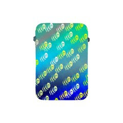 Swarm Of Bees Background Wallpaper Pattern Apple Ipad Mini Protective Soft Cases by Nexatart