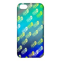 Swarm Of Bees Background Wallpaper Pattern Apple Iphone 5c Hardshell Case by Nexatart