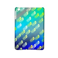 Swarm Of Bees Background Wallpaper Pattern Ipad Mini 2 Hardshell Cases by Nexatart