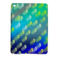 Swarm Of Bees Background Wallpaper Pattern Ipad Air 2 Hardshell Cases by Nexatart