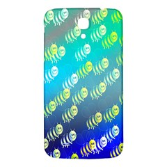 Swarm Of Bees Background Wallpaper Pattern Samsung Galaxy Mega I9200 Hardshell Back Case by Nexatart