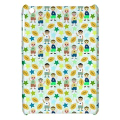 Football Kids Children Pattern Apple Ipad Mini Hardshell Case by Nexatart