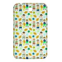 Football Kids Children Pattern Samsung Galaxy Tab 3 (7 ) P3200 Hardshell Case  by Nexatart