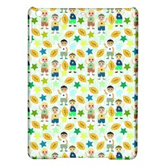 Football Kids Children Pattern Ipad Air Hardshell Cases by Nexatart