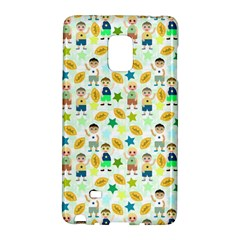 Football Kids Children Pattern Galaxy Note Edge by Nexatart