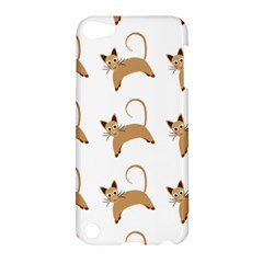 Cute Cats Seamless Wallpaper Background Pattern Apple Ipod Touch 5 Hardshell Case by Nexatart