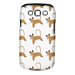 Cute Cats Seamless Wallpaper Background Pattern Samsung Galaxy S Iii Classic Hardshell Case (pc+silicone) by Nexatart
