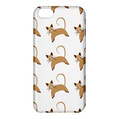 Cute Cats Seamless Wallpaper Background Pattern Apple Iphone 5c Hardshell Case by Nexatart
