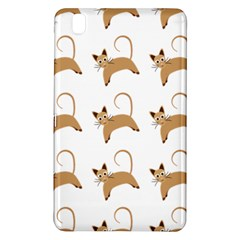 Cute Cats Seamless Wallpaper Background Pattern Samsung Galaxy Tab Pro 8 4 Hardshell Case