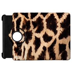 Yellow And Brown Spots On Giraffe Skin Texture Kindle Fire Hd 7  by Nexatart