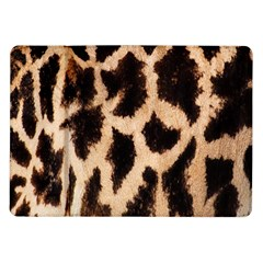 Yellow And Brown Spots On Giraffe Skin Texture Samsung Galaxy Tab 10 1  P7500 Flip Case