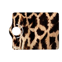 Yellow And Brown Spots On Giraffe Skin Texture Kindle Fire Hd (2013) Flip 360 Case by Nexatart