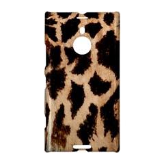 Yellow And Brown Spots On Giraffe Skin Texture Nokia Lumia 1520 by Nexatart