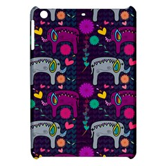 Love Colorful Elephants Background Apple Ipad Mini Hardshell Case by Nexatart