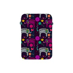 Love Colorful Elephants Background Apple Ipad Mini Protective Soft Cases by Nexatart