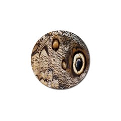 Butterfly Wing Detail Golf Ball Marker (4 Pack)