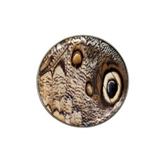 Butterfly Wing Detail Hat Clip Ball Marker (4 Pack)