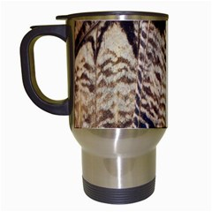 Butterfly Wing Detail Travel Mugs (white)