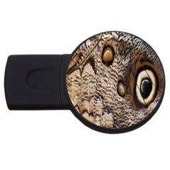 Butterfly Wing Detail Usb Flash Drive Round (4 Gb) by Nexatart