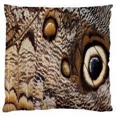Butterfly Wing Detail Large Cushion Case (one Side)
