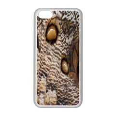 Butterfly Wing Detail Apple Iphone 5c Seamless Case (white) by Nexatart