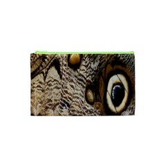 Butterfly Wing Detail Cosmetic Bag (xs) by Nexatart