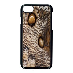 Butterfly Wing Detail Apple Iphone 7 Seamless Case (black) by Nexatart