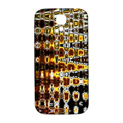 Bright Yellow And Black Abstract Samsung Galaxy S4 I9500/i9505  Hardshell Back Case