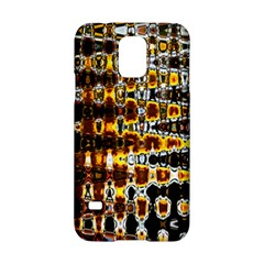 Bright Yellow And Black Abstract Samsung Galaxy S5 Hardshell Case