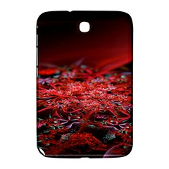 Red Fractal Valley In 3d Glass Frame Samsung Galaxy Note 8 0 N5100 Hardshell Case  by Nexatart