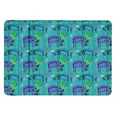 Elephants Animals Pattern Samsung Galaxy Tab 8 9  P7300 Flip Case