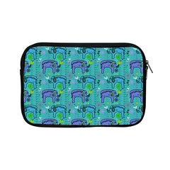 Elephants Animals Pattern Apple Ipad Mini Zipper Cases