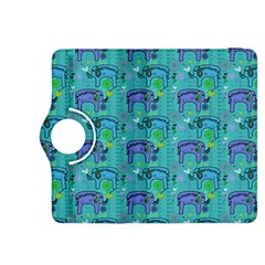 Elephants Animals Pattern Kindle Fire Hdx 8 9  Flip 360 Case