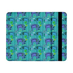 Elephants Animals Pattern Samsung Galaxy Tab Pro 8 4  Flip Case by Nexatart
