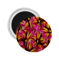 Floral Pattern Background Seamless 2 25  Magnets