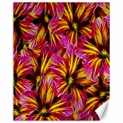 Floral Pattern Background Seamless Canvas 11  X 14