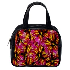 Floral Pattern Background Seamless Classic Handbags (one Side)