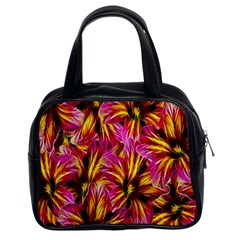 Floral Pattern Background Seamless Classic Handbags (2 Sides) by Nexatart