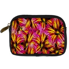Floral Pattern Background Seamless Digital Camera Cases