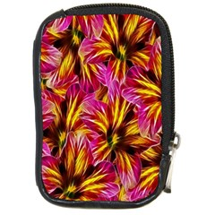 Floral Pattern Background Seamless Compact Camera Cases by Nexatart