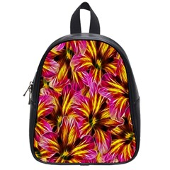 Floral Pattern Background Seamless School Bags (small)  by Nexatart