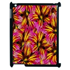 Floral Pattern Background Seamless Apple Ipad 2 Case (black) by Nexatart