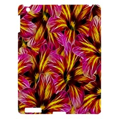 Floral Pattern Background Seamless Apple Ipad 3/4 Hardshell Case