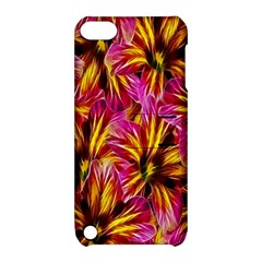 Floral Pattern Background Seamless Apple Ipod Touch 5 Hardshell Case With Stand