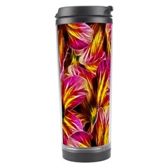 Floral Pattern Background Seamless Travel Tumbler by Nexatart