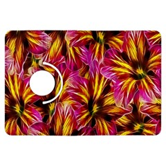 Floral Pattern Background Seamless Kindle Fire Hdx Flip 360 Case by Nexatart