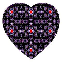 Digital Computer Graphic Seamless Wallpaper Jigsaw Puzzle (heart)