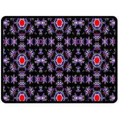 Digital Computer Graphic Seamless Wallpaper Double Sided Fleece Blanket (large)