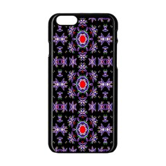 Digital Computer Graphic Seamless Wallpaper Apple Iphone 6/6s Black Enamel Case by Nexatart