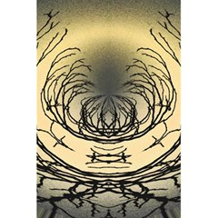 Atmospheric Black Branches Abstract 5 5  X 8 5  Notebooks